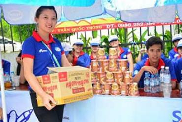 VIFON SPONSORED NATIONAL UNIVERSITY ENTRANCE EXAM SUPPORT CAMPAIGN 2017 IN HO CHI MINH CITY.