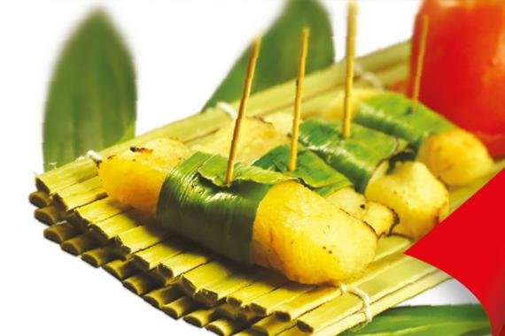 Cá nướng lá dứa (2-3 người dùng)