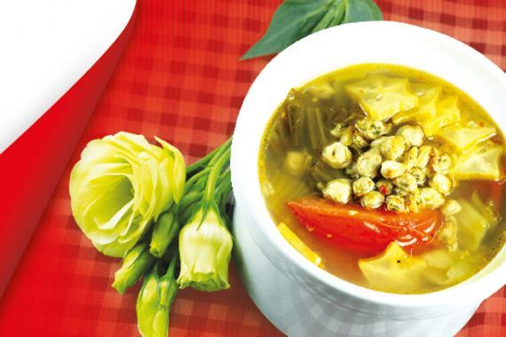 Canh hến nấu chua (2-3 người ăn)
