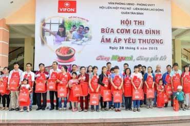 VIFON phối hợp tổ chức hội thi nấu ăn, chào mừng ngày gia đình Việt Nam
