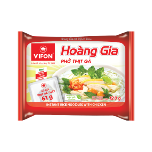 """Hoang Gia """"Pho"""" With Chicken 120g (Real Meat)"""