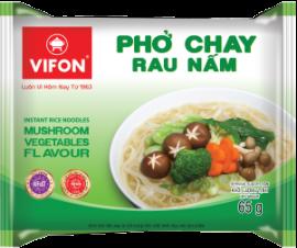 Instant Rice Noodles Mushroom Vegetable Flavor 65g