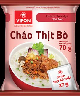 Cháo Thịt Bò 70g