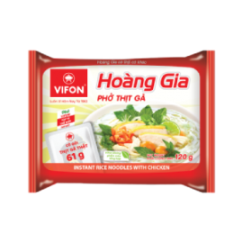 "Hoang Gia ""Pho"" With Chicken 120g (Real Meat)"
