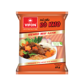 Vietnamese Style Instant Rice Noodles Beef Flavour 65g