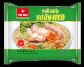 Oriental Style Instant Rice Noodles Pork Ribs Flavour 65g