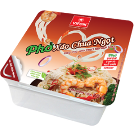 "Fried ""Pho"" With Sweet And Sour Sauce 80g"
