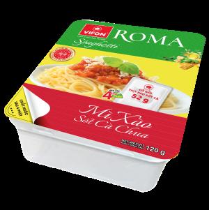 Mì Xào Roma Spaghetti Khay 120g