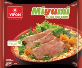 Miyumi Noodles Herb Beef Flavor 65g