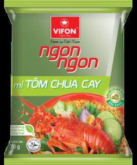 Mì Gói Ngon Ngon Tôm Chua Cay 70g