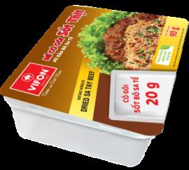 Mì Khay Có Gói Sốt Thịt Bò Xào Sa Tế 90g