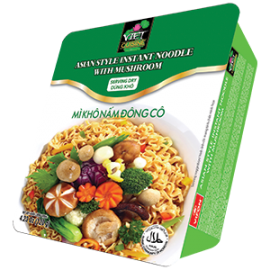 Asian Style Instant Noodles With Shiitake Mushroom 90g