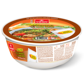 Asian Style Instant Noodles With Crab Paste 120g