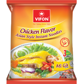 Chicken Flavor Asian Style Instant Noodles 70g