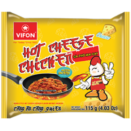 Asian Style Hot Cheese Chicken Flavor Instant Noodles 115g