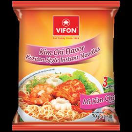 Kim Chi Flavor Korean Style Instant Noodles 70g