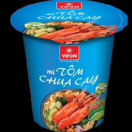 Mì Ly Tôm Chua Cay 60g