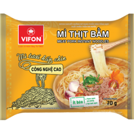 Instant Noodles With Mixed Pork Flavor