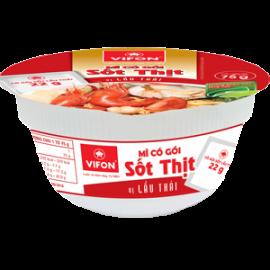 Mì Tô Có Gói Sốt Thịt Lẩu Thái 75g
