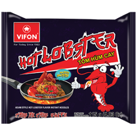 Asian Style Hot Lobster Flavor Instant Noodles 115g