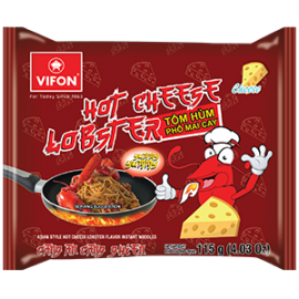 Asian Style Hot Cheese Lobster Flavor Instant Noodles 115g