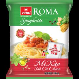 Roma Mì Spaghetti Sốt Cà Chua Gói (Có Thịt Thật) 120g