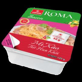 Roma Mì Xào Thịt Hun Khói Khay 120g