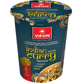 Indian Style Curry Instant Noodle 65G