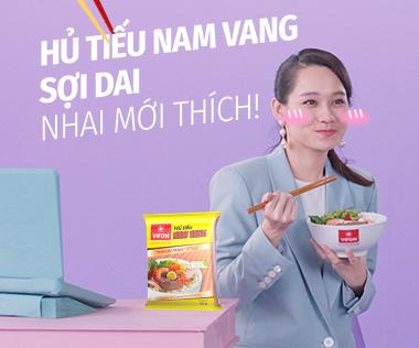 Hủ Tiếu Nam Vang VIFON: Sợi dai, nhai mới thích