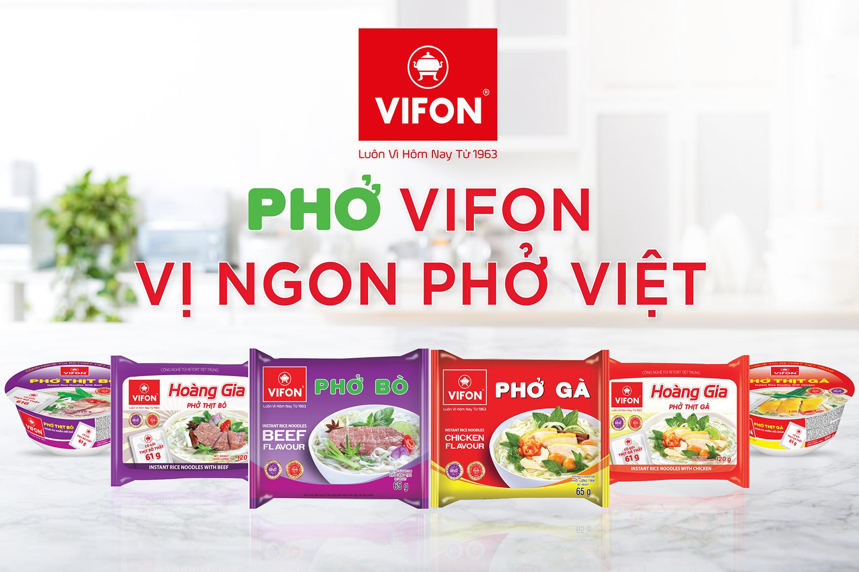 PHỞ VIFON - VỊ NGON PHỞ VIỆT