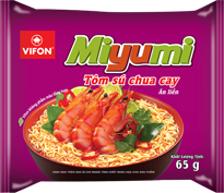 Miyumi Hot Sour Prawn 65g