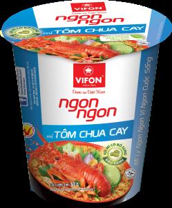 3D Mi Ly Ngon Ngon - Tom Chua cay