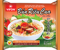 Oriental Style Instant Rice Vermicelli With Crab Soup 80g