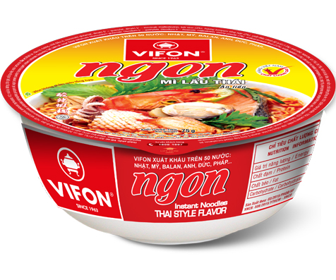 Mì Tô Ngon Lẩu Thái 75g