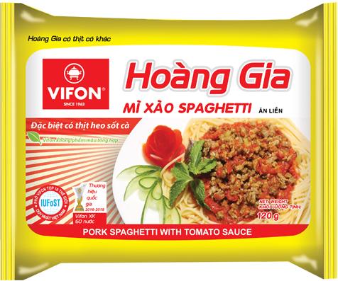 Mì Xào Spaghetti 120g