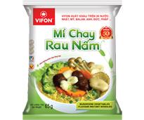 Mushroom Vegetables Flavor Instant Noodles 65g