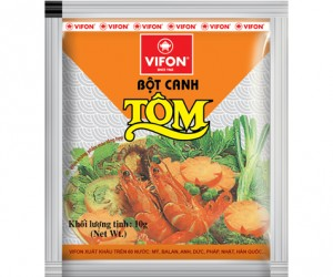 bot canh tom