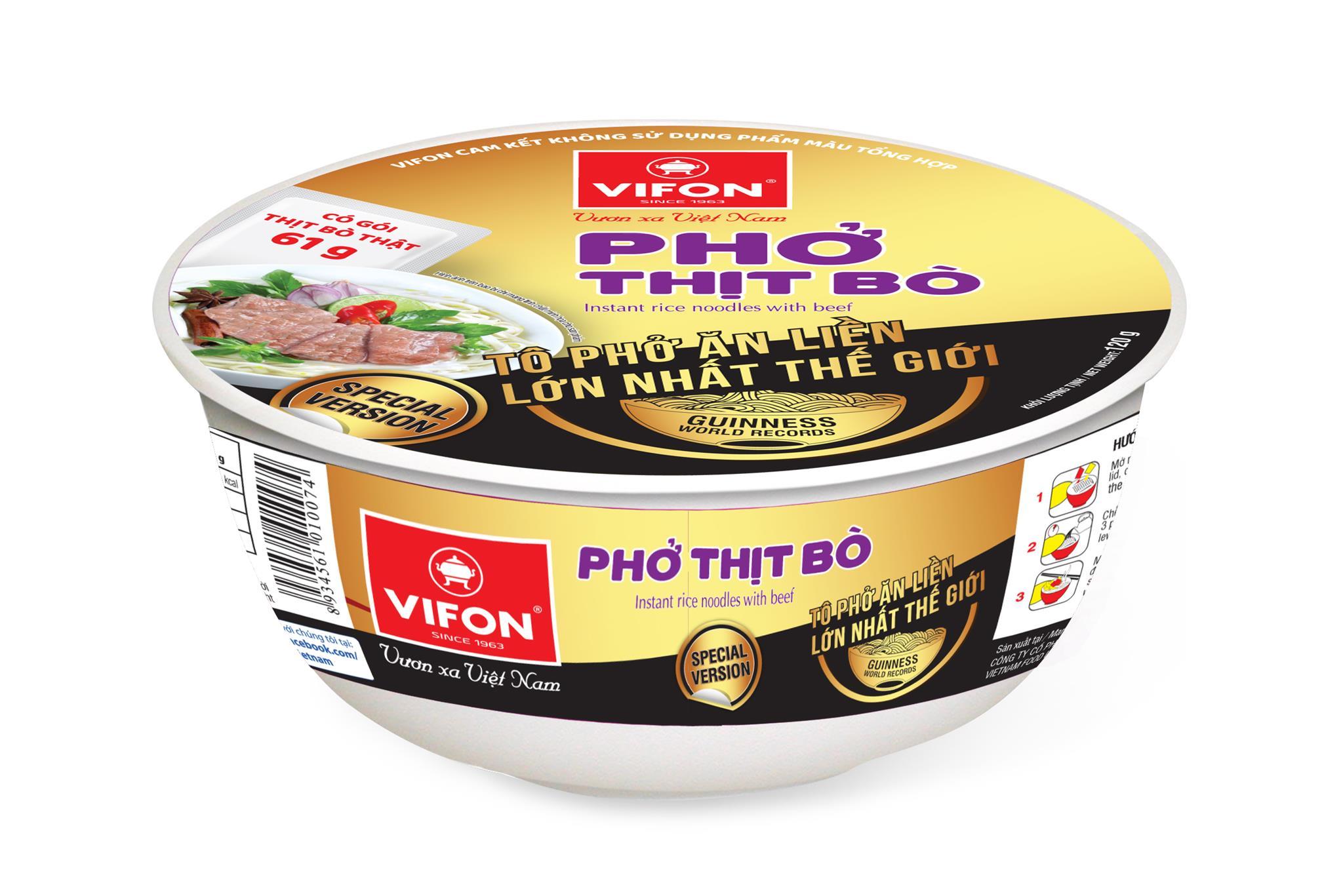 Phở Thịt Bò Tô Phiên Bản Guinness 120g