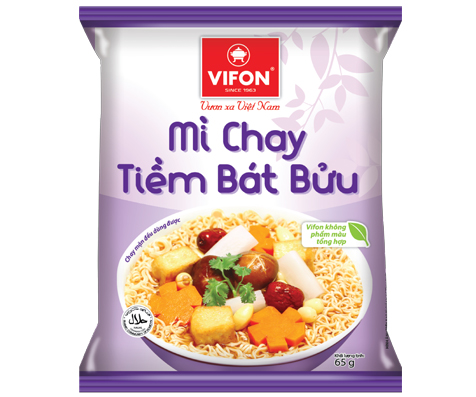 Vegetarian Instant Noodles With Stewed Vegetables 65g