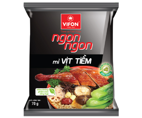 Ngon Ngon Instant Noodles With Stewed Duck 70g